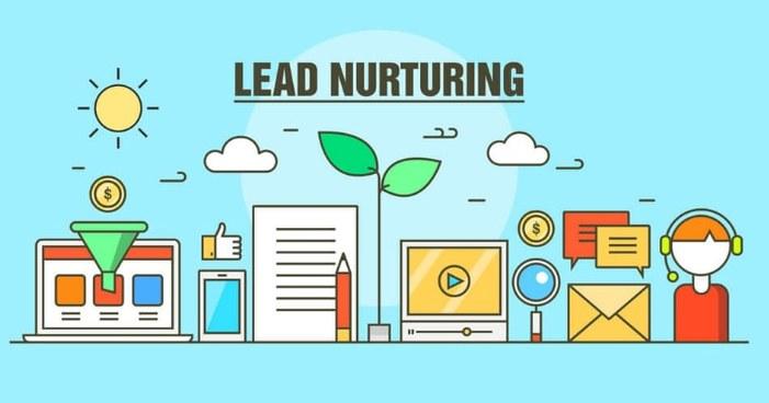 Le lead nurturing c'est faire murir le lead avant de le faire continuer dans sa buyer journée