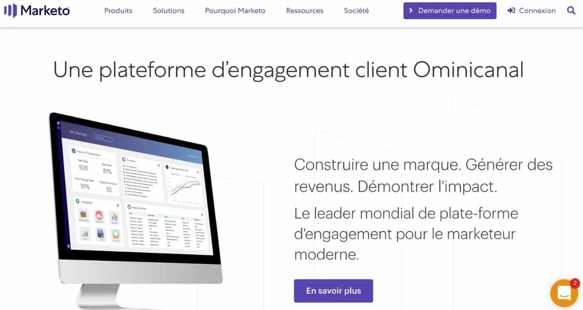 marketo est une plateforme d'engagement client Ominicanal