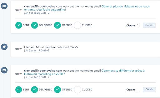 Le marketing automation permet de récolter des informations clients