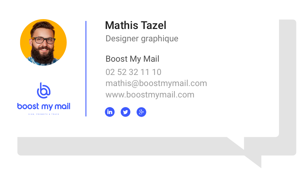 Exemple de signature mail part myboostmail