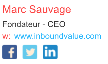 Mettre les réseaux sociaux dans sa signature mail permet d'améliorer votre notoriété