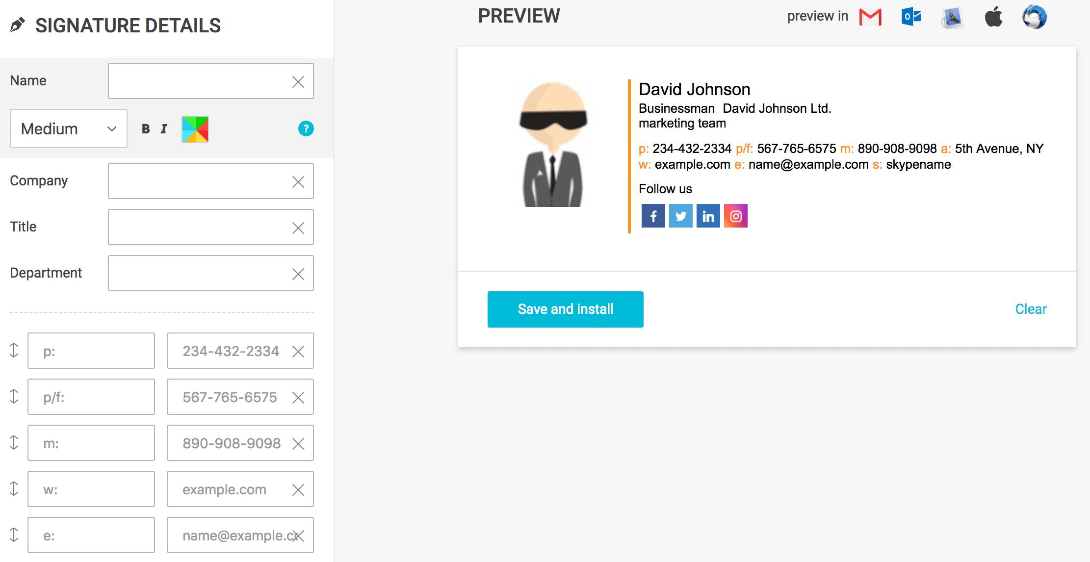 newoldstamp est un logiciel de création mail.