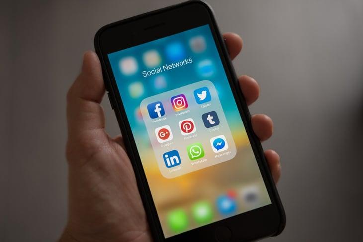 Les reseaux sociaux sont une source trafic du site internet